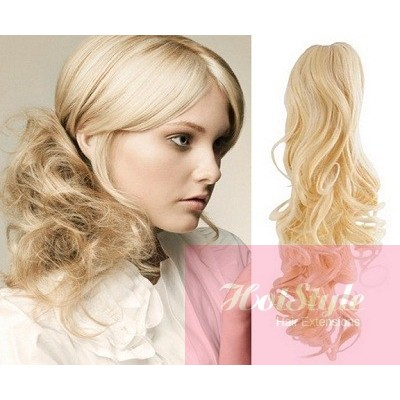 Clip In Ponytail Wrap Braid Hair Extension 24 Quot Curly