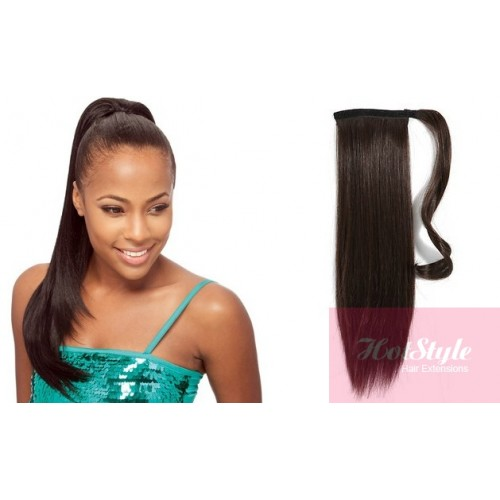 Human Hair Ponytail Wrap 3