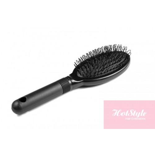 Special Hair Extension Loop Brush Black