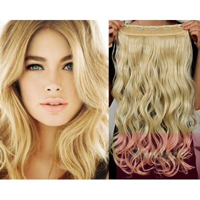 https://www.hair-extensions-hotstyle.com/534-1102-thickbox/24-one-piece-full-head-clip-in-kanekalon-weft-extension-wavy-the-lightest-blonde.jpg