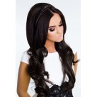 One piece clip extensions - wavy