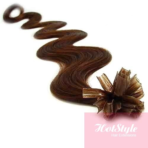 I Tip Human Hair Extensions Wavy 81