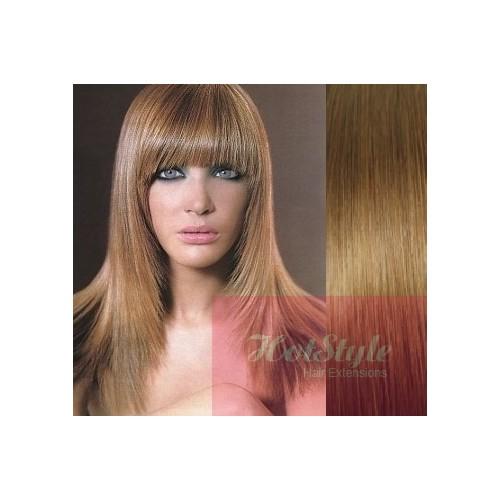 Clip In Bangfringe Human Hair Remy Light Brown