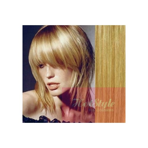clip in bang fringe human hair remy light blonde natural blonde
