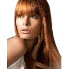 Clip in human hair bangs/fringes