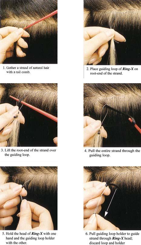 Aplikácia micro ring vlasov