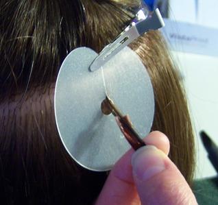 Prodloužení vlasů keratinem 2