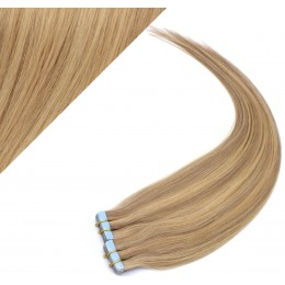 """16"""" (40cm) Tape Hair / Tape IN human REMY hair - light blonde/natural blonde"""
