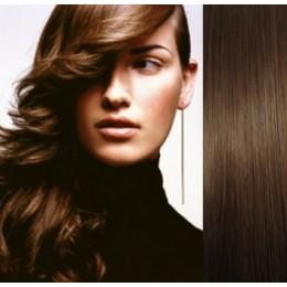 "20"" (50cm) Tape Hair / Tape IN human REMY hair - medium brown"