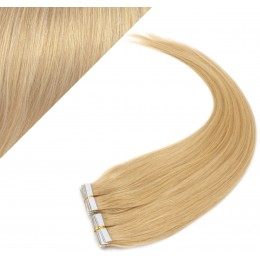 """24"""" (60cm) Tape Hair / Tape IN human REMY hair - natural blonde"""