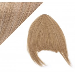 Clip in human hair remy bang/fringe - light brown